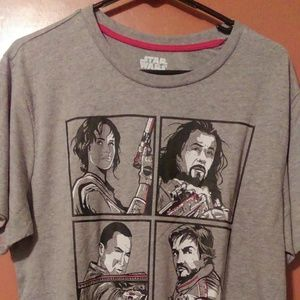 Men's Star Wars Rogue One Tshirt XL